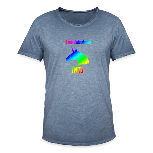 INTJ - Koszulka męska vintage