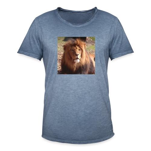 Lejon - Vintage-T-shirt herr