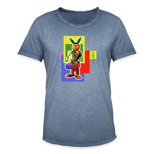 smARTkids - Slammin' Rabbit - Men's Vintage T-Shirt
