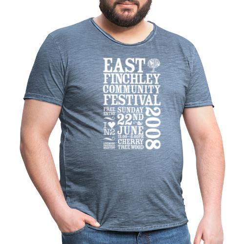 2008 East Finchley Community Festival - Men's Vintage T-Shirt