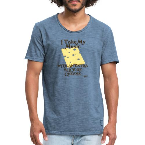 Cheese - Men's Vintage T-Shirt