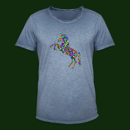 Einhorn - Männer Vintage T-Shirt