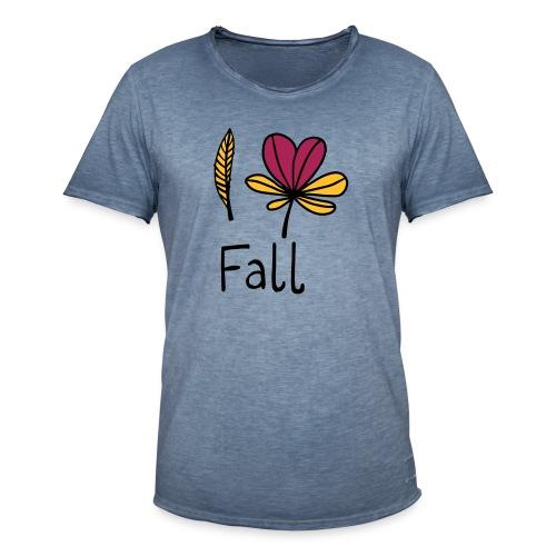 Fall in love - Männer Vintage T-Shirt