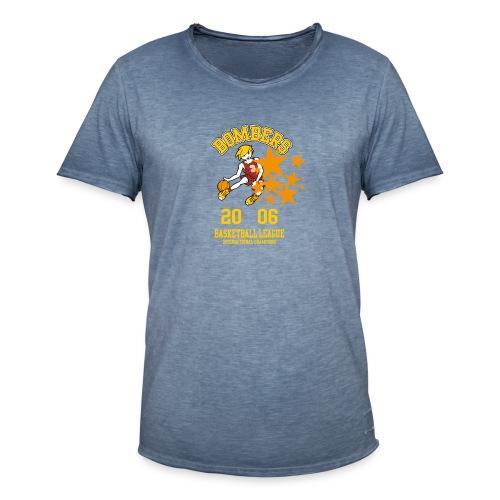 tshirt design bomber kinder - Männer Vintage T-Shirt
