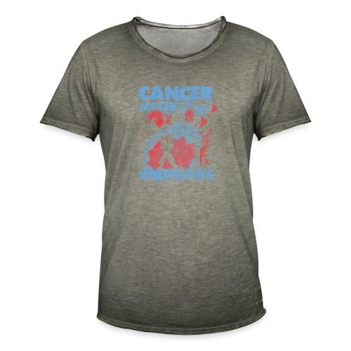 cancer makes warriors - Men's Vintage T-Shirt