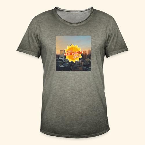 California Spirit City - T-shirt vintage Homme