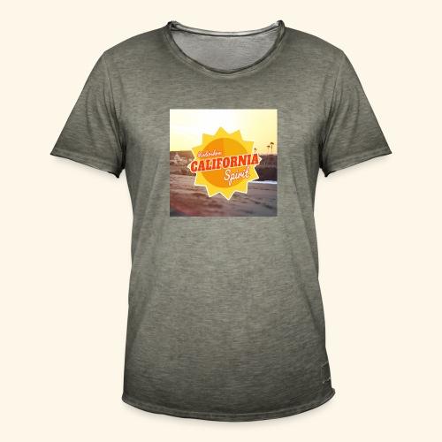 SunRise - T-shirt vintage Homme