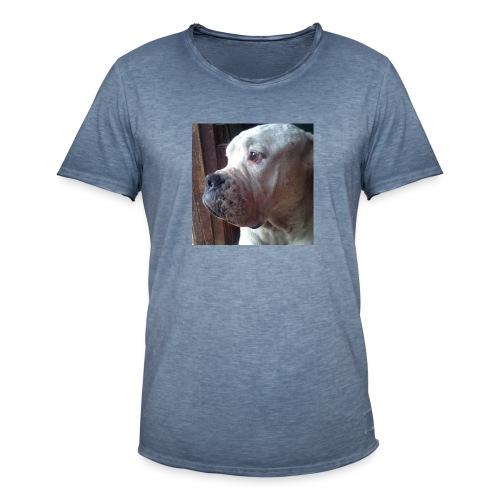 Mirada Perritus - Camiseta vintage hombre