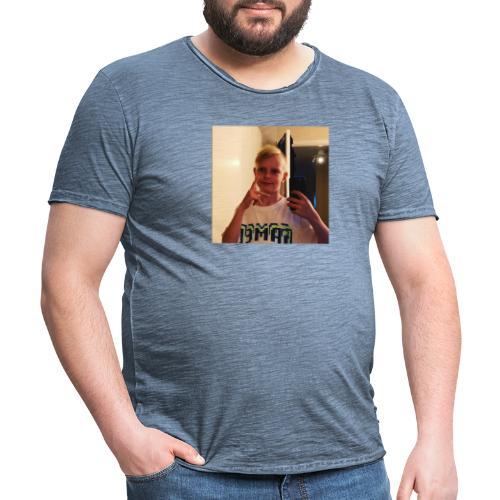 TDRAWZ123 - Vintage-T-shirt herr