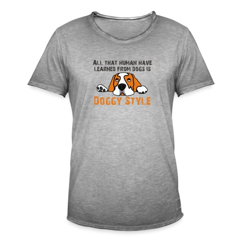 Doggy Style - T-shirt vintage Homme