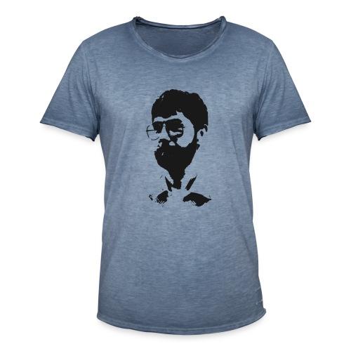 Markus Huser Head (front) - Männer Vintage T-Shirt