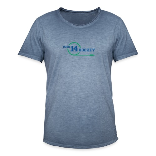 D14 HOCKEY LOGO - Men's Vintage T-Shirt