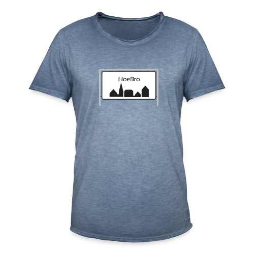 Hoebro - Herre vintage T-shirt