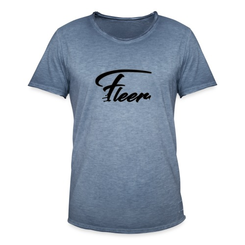 Flëër Nero - Maglietta vintage da uomo