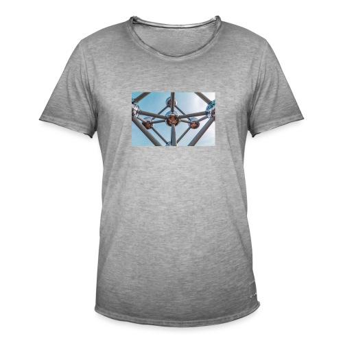 Atomium - Männer Vintage T-Shirt