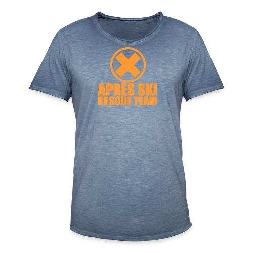 APRES SKI RESCUE TEAM - T-shirt vintage Homme