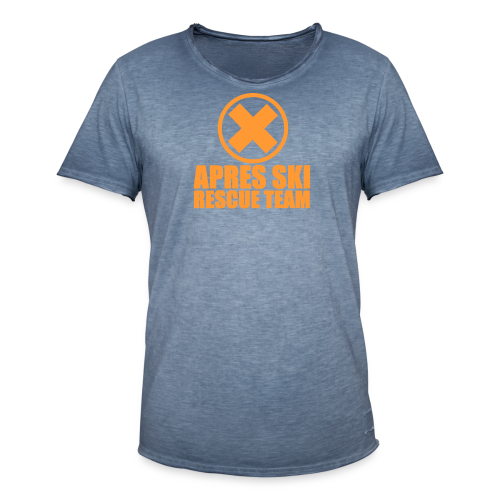 APRES SKI RESCUE TEAM - Men's Vintage T-Shirt