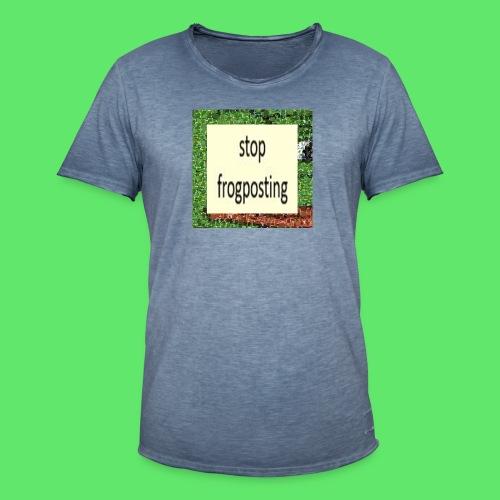 Frogposter - Men's Vintage T-Shirt