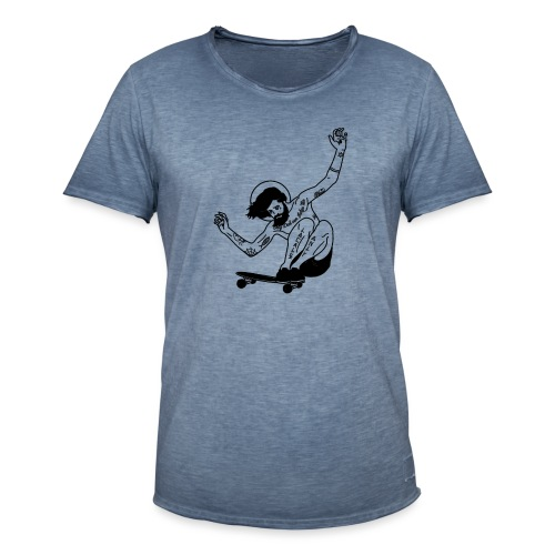 Gesu skater tutti i motivi - Maglietta vintage da uomo