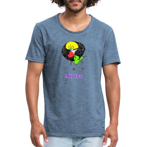 MC Elvis - T-shirt vintage Homme