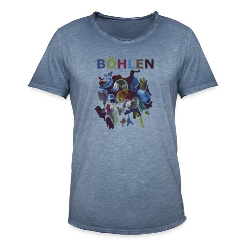 Böhlen wird bunter. - Männer Vintage T-Shirt