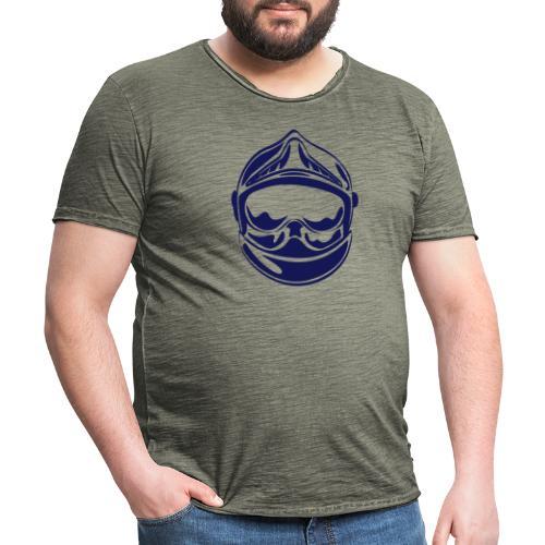 casque_face_2 - T-shirt vintage Homme