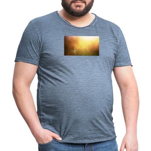 Sunshine view - Männer Vintage T-Shirt