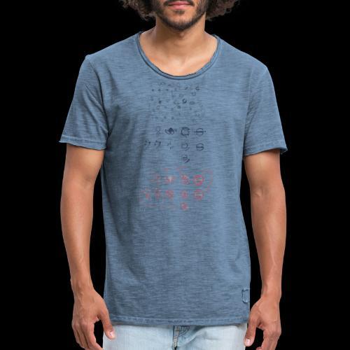 Overscoped concept logos - Men's Vintage T-Shirt