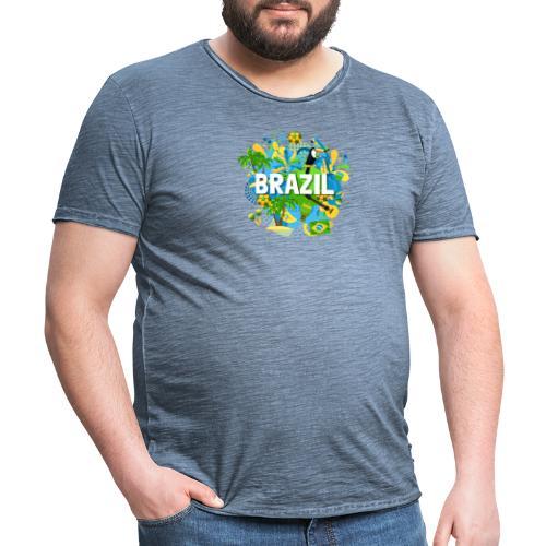 Encontro Brasil - Men's Vintage T-Shirt