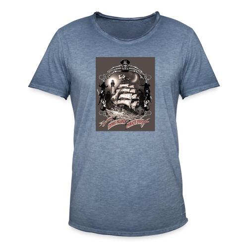 PF 15 Tshirt - Männer Vintage T-Shirt