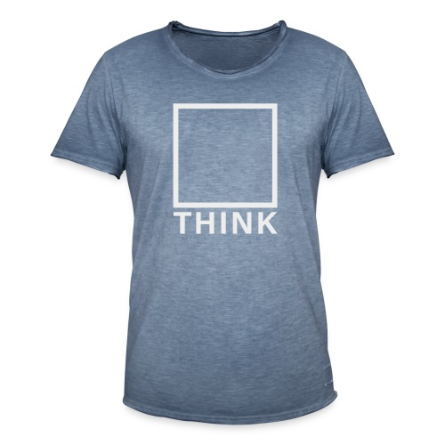 Think Box - Männer Vintage T-Shirt