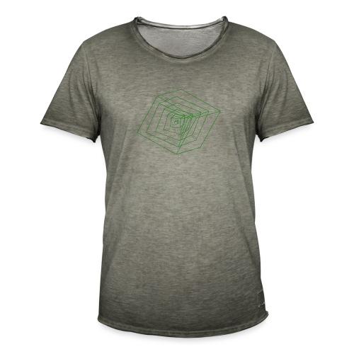 Cubes - T-shirt vintage Homme