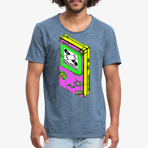 Rollbrett Mission Spieltrieb - Männer Vintage T-Shirt