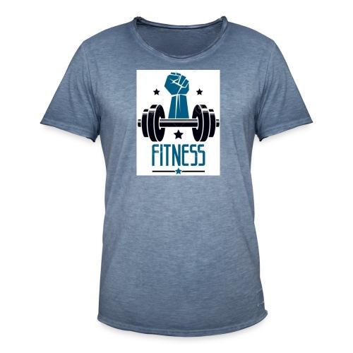 Fitness - Camiseta vintage hombre