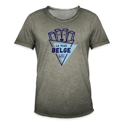 La+Belge - T-shirt vintage Homme