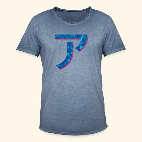 ア logo - T-shirt vintage Homme