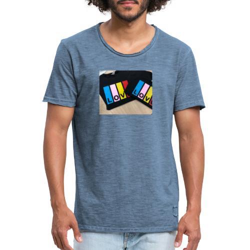 LOVE - Camiseta vintage hombre