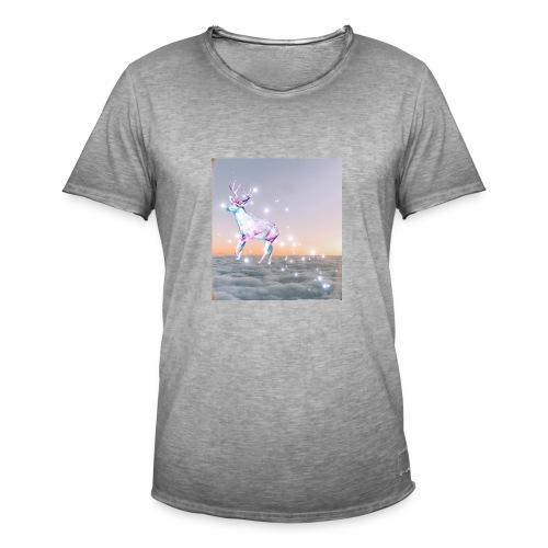 magiczny jelonek - Koszulka męska vintage