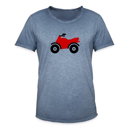 Bike Comic - Männer Vintage T-Shirt