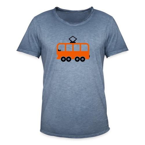 Bahn Comic - Männer Vintage T-Shirt