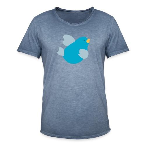 Kinder Comic - Vogel - Männer Vintage T-Shirt
