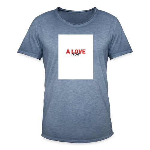 a love usa - T-shirt vintage Homme