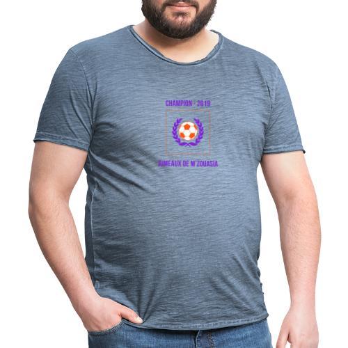 JUMEAUX CHAMPION RÉGIONAL 1 - 2019 - T-shirt vintage Homme