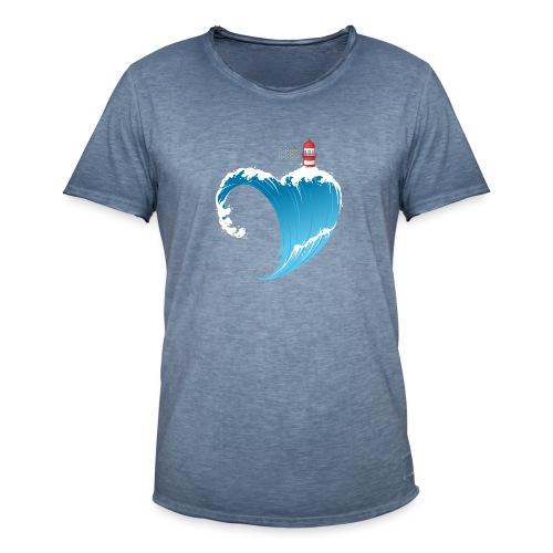 Ostseeherz - Männer Vintage T-Shirt