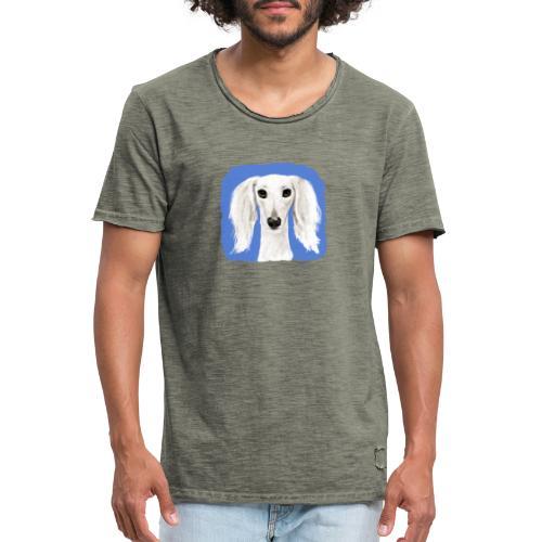 Saluki - Männer Vintage T-Shirt