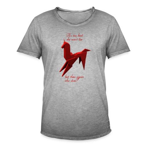 UnicornioBR2 - Camiseta vintage hombre