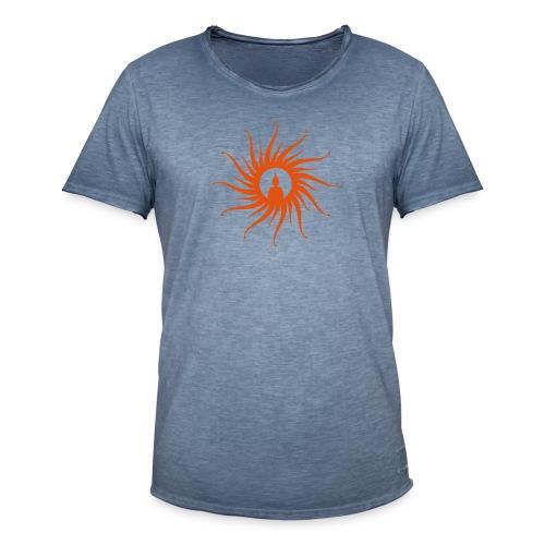Buddha Sun - Männer Vintage T-Shirt