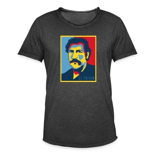 Retro - Camiseta vintage hombre