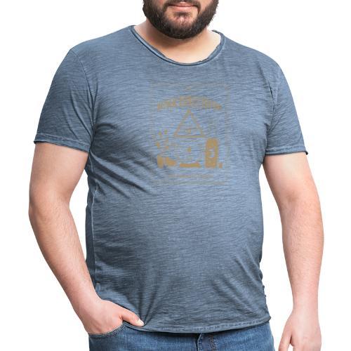 2 esochiacchiere - Maglietta vintage da uomo