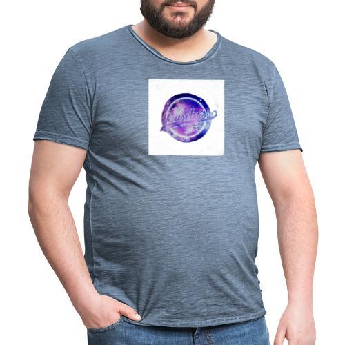 Housebass easy logo - Vintage-T-shirt herr